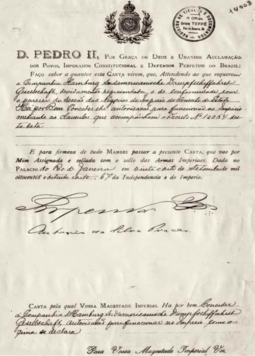 Contrato é histórico e muito importante para a empresa