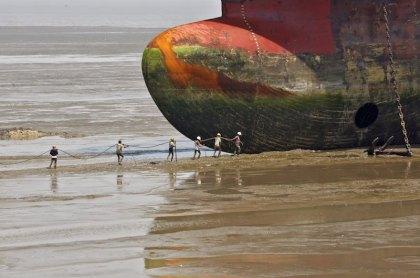 Corte de navio