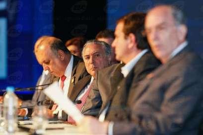 Rio de Janeiro -  Presidente Michel Temer durante Cerimônia de Abertura da Rio Oil & Gas 2016. (Beto Barata/PR)