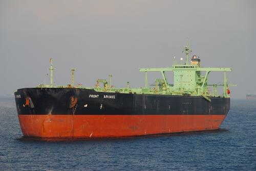 Front Ariake (ex Oliva) - Gigante é o único que permanece carregado com petróleo no Mar do Norte