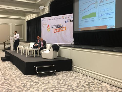 This year, the Intergas event is focusing on LNG but, in general, it is a platform where specialists are discussing the future of natural gas, increasing demand of sustainable energy supply and ways of reducing greenhouse emissions.