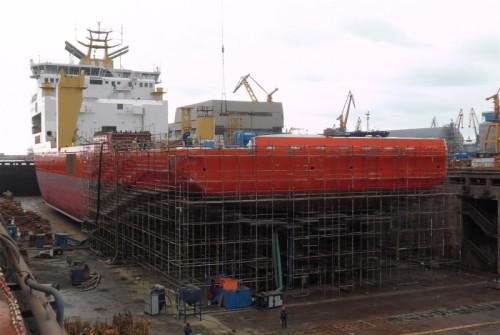 A construção foi meticulosamente detalhada entre Solstad, Saipem e Vard