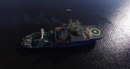 Navio é o maior quebra gelo não nuclear da Rússia